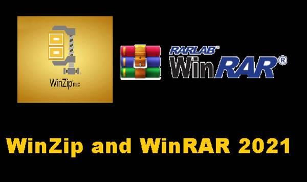 WinZip and WinRAR 2021, Updated