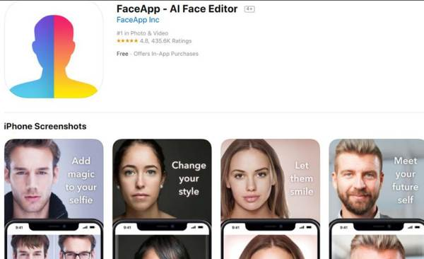 Dangers of Using FaceApp: Identity Theft in 2021