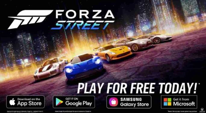 Forza Street, Racing Cars in 2021